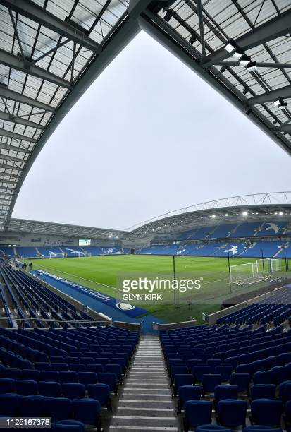 GBR: Brighton and Hove Albion v Derby County - FA Cup Fifth Round