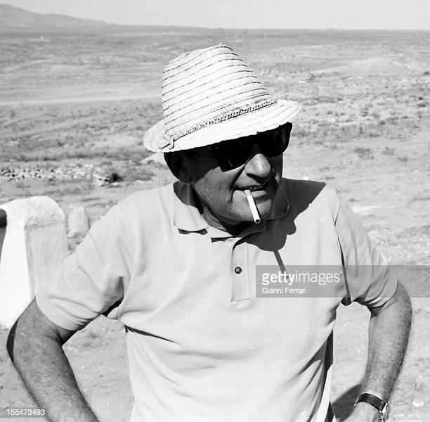 The American film Director Mark Robson Madrid Castilla La Mancha Spain