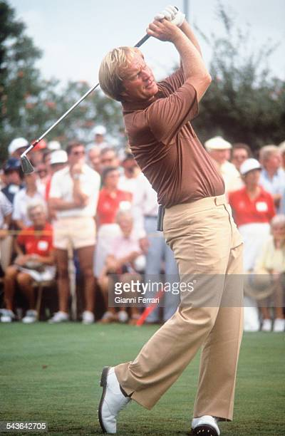 The American golfer Jack Nicklaus Madrid Spain