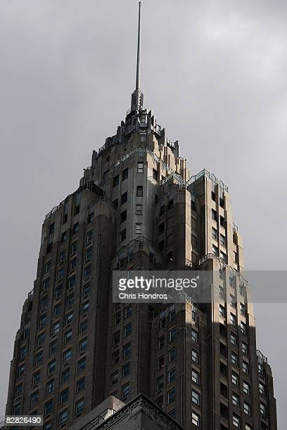 The American International Building world headquarters of American International Group is seen September 15 2008 in New York City New York state...