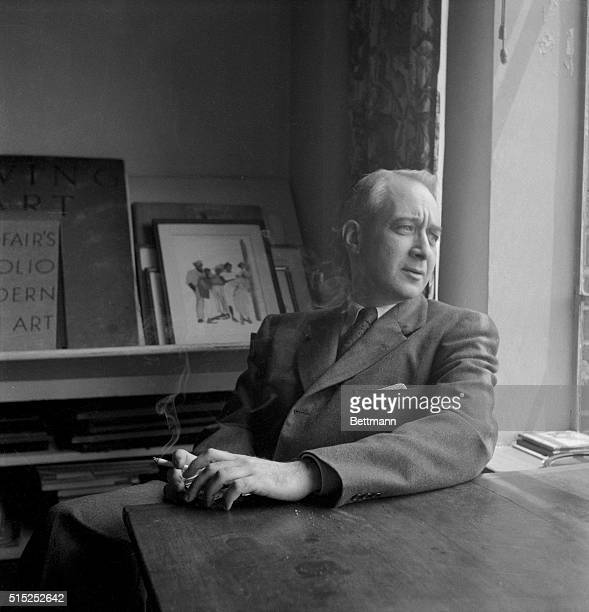 The American literary critic Lionel Trilling, is shown here. Trilling was born in New York City, and is the author of one novel and many critical...