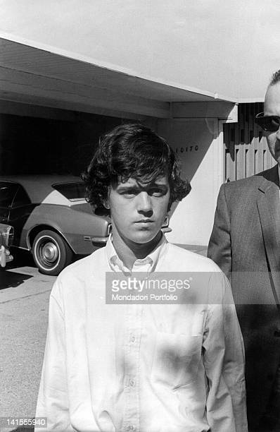 The American man William Garretson is the caretaker initially suspected of the killing spree in which actress Sharon Tate died Los Angeles August 1969