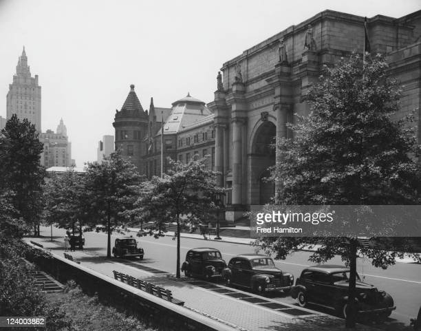 The American Museum of Natural History on Central Park West Manhattan New York City circa 1945