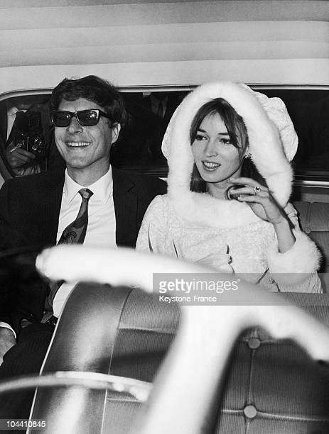 The American Paul GETTY Jr who took care of the business of his father Jean Paul GETTY in Rome got married to the artist Talitha POL at the Capitol...