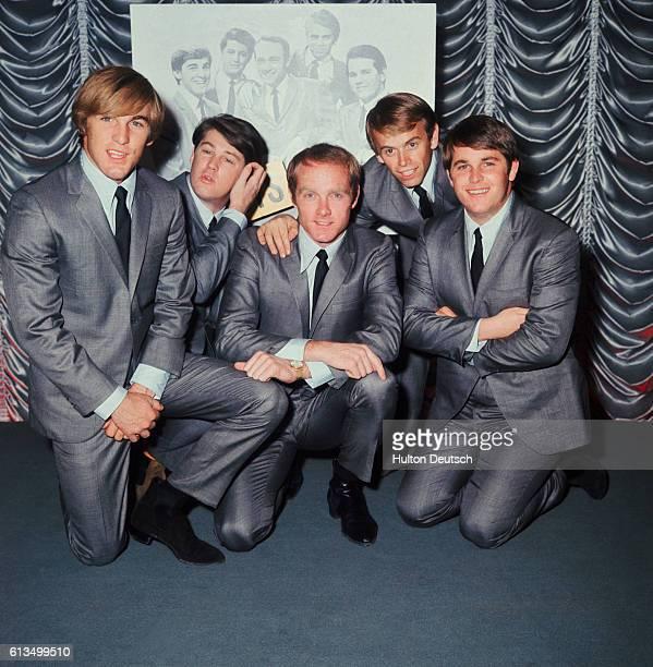 The American Pop Group The Beach Boys.