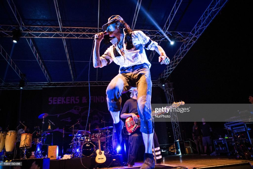 Gogol Bordello Performs At Mojotic Festival 2018