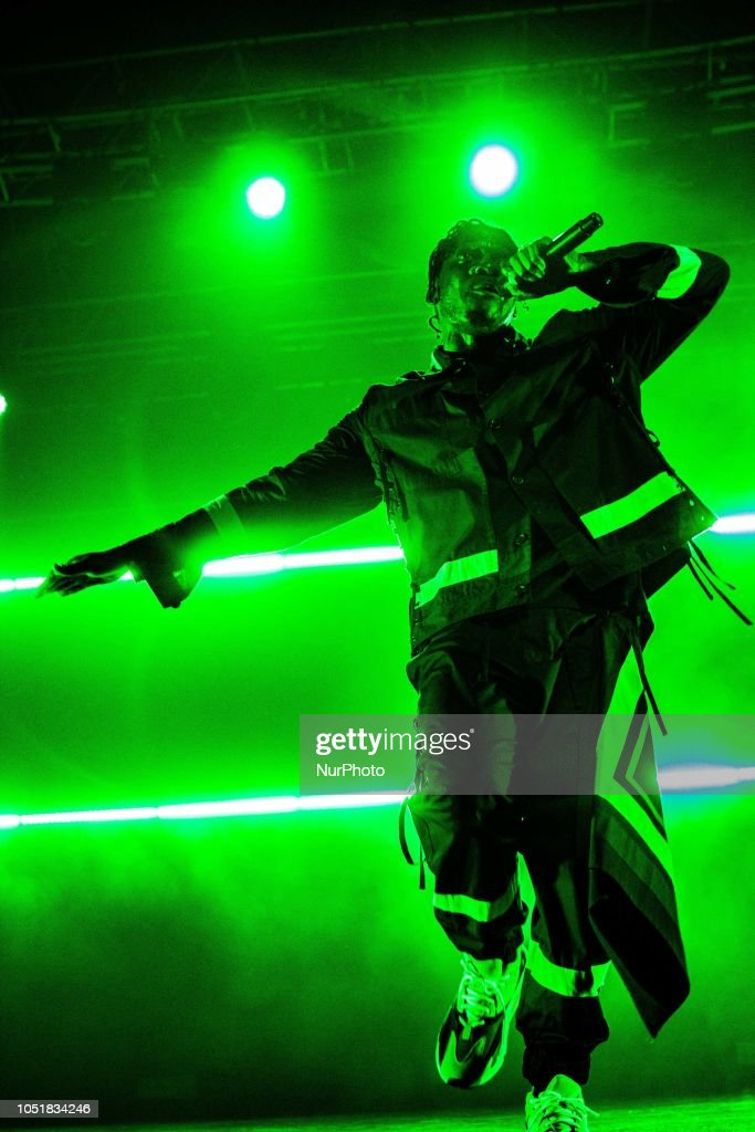 The American Rapper Pusha T Performing Live At Fabrique In Milan News Photo Getty Images