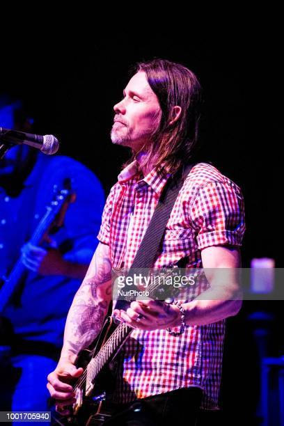The american rock singer and songwriter Myles Kennedy performing live at Teatro Dal Verme Milan Italy on July 18 2018