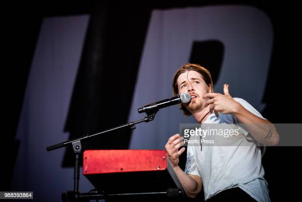 CACCIA STUPINIGI TORINO ITALY The American singer and song writer Josiah Leming performing live on stage at the Stupinigi Sonic Park festival in...