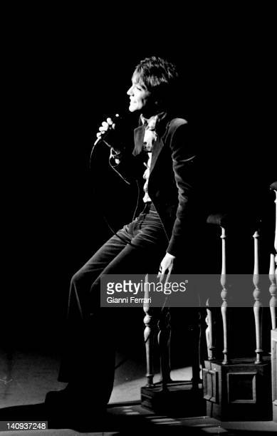 The American singer David Cassidy in concert 1963 Madrid Spain