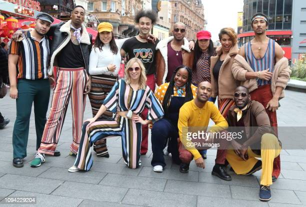 The American Soul crew seen posing together for a photo In honour of the BET Networks groovy new period drama American Soul a flash mob dance...