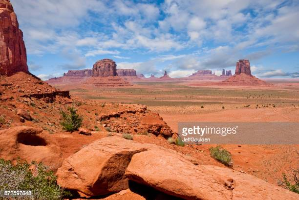 Monument Valley from North Window Overlook
