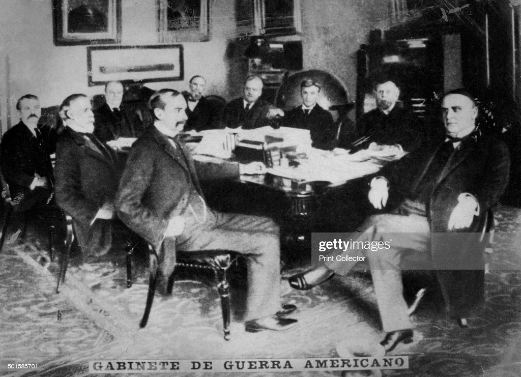 Superior The American War Cabinet Under William McKinley (1843 1901), 1898 (c1910