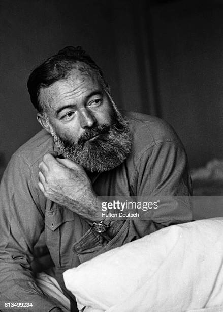 The American writer and war correspondent Ernest Hemingway was known for several major novels including A Farewell to Arms For Whom the Bell Tolls...