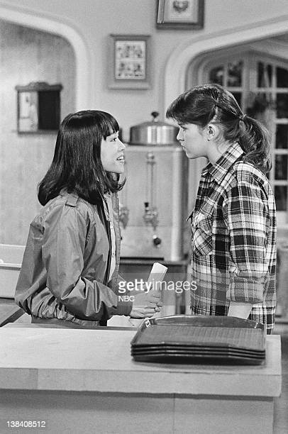 """The Americanization of Miko"""" Episode 13 -- Pictured: Lauren Tom as Miko, Nancy McKeon as Joanne 'Jo' Polniaczek"""