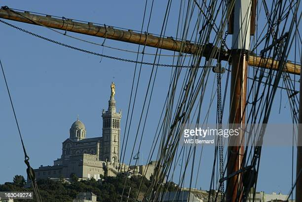 The America'S Cup In Marseille Marseille la basilique NotreDame de la Garde