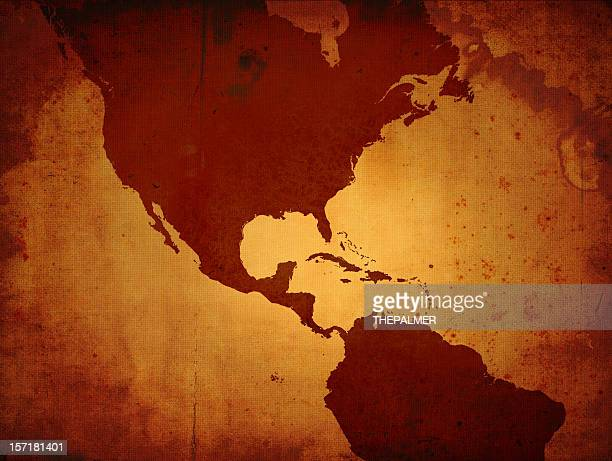 the americas - mexico map stock photos and pictures