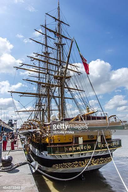 CONTENT] The Amerigo Vespucci is a tall ship of the Marina Militare named after the explorer Amerigo Vespucci Its home port is La Spezia Italy and it...