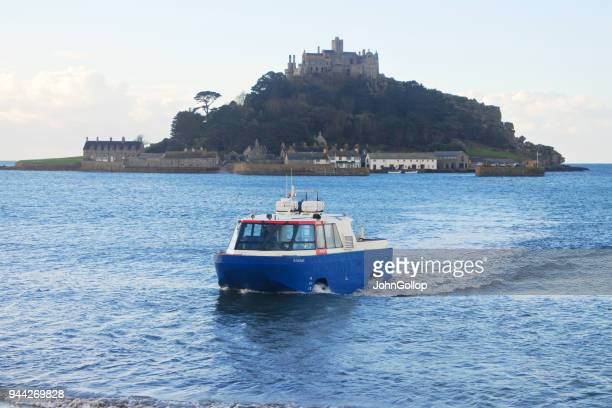 The Amphibious Ferry at St. Michael's Mount