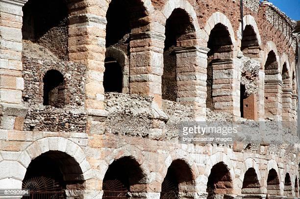 The amphitheatre of Verona better known as the arena of Verona Italy Photography 2005 [Das Amphitheater von Verona besser bekannt als die Arena von...