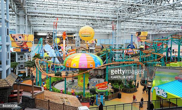 The amusement park at the center of the Mall of America on February 1 2009 in Bloomington Minnesota The 42millionsquarefoot or 390000squaremeter...