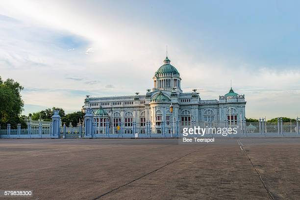 The Ananta Samakhom Throne Hall at Sunset