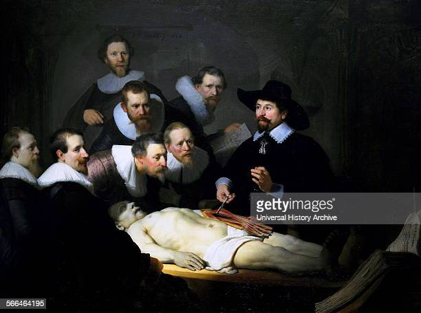The Anatomy Lesson of Dr Nicolaes Tulp 1632, by Rembrandt.