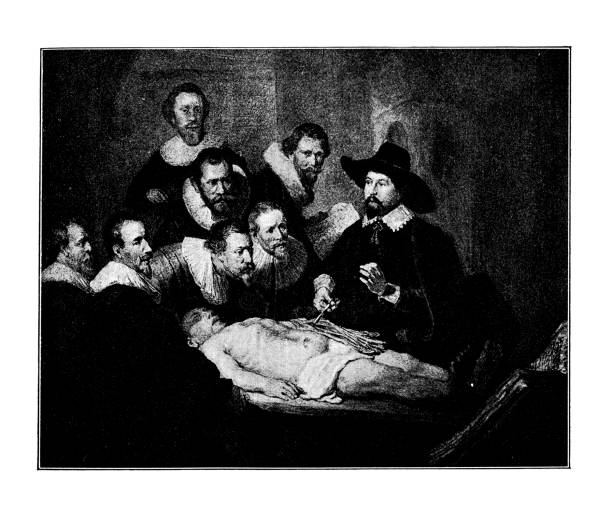 The Anatomy Lesson of Dr. Nicolaes Tulp is a 1632 oil painting on canvas by Rembrandt