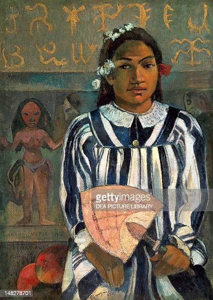 The ancestors of Teha 'Amana , by Paul Gauguin . ; Chicago, Art Institute Of Chicago.