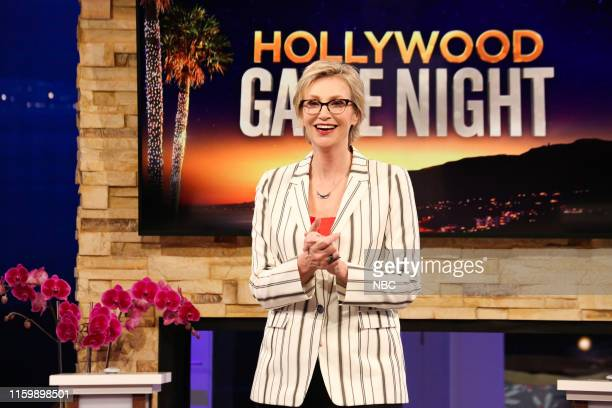 NIGHT The Anchorman and The Wrestlers Episode 613 Pictured Jane Lynch