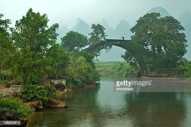 the ancient bridge at Fuli Village