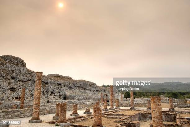 The ancient city of Conimbriga is the largest Roman settlement in Portugal, near Coimbra, Portugal