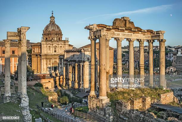 The Ancient city of Rome called the Forum Romanum.