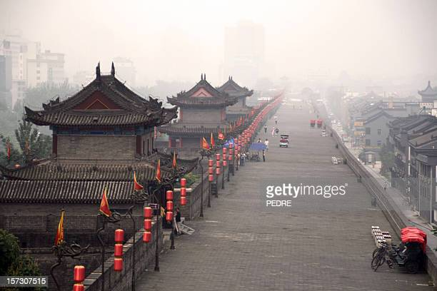 The ancient fortifications of Xian, China