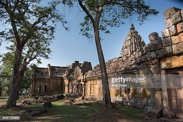 the Ancient Khmer art, Phanom Rung historical park in north east of Thailand