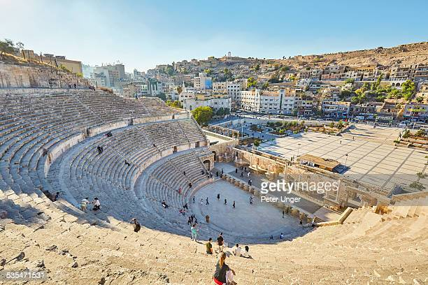 The ancient Roman Amphitheatre of Amman