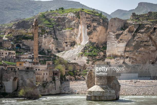 The ancient Silk Road trading post of Hasankeyf which sits on the banks of Tigris River in southeast Turkey will soon be flooded by the Ilisu Dam...