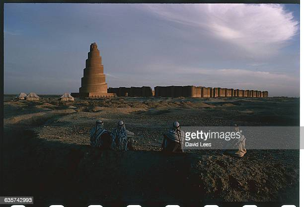 The ancient town of Samarra, Iraq, now a place of pilgrimage for Shi'ite Muslims.