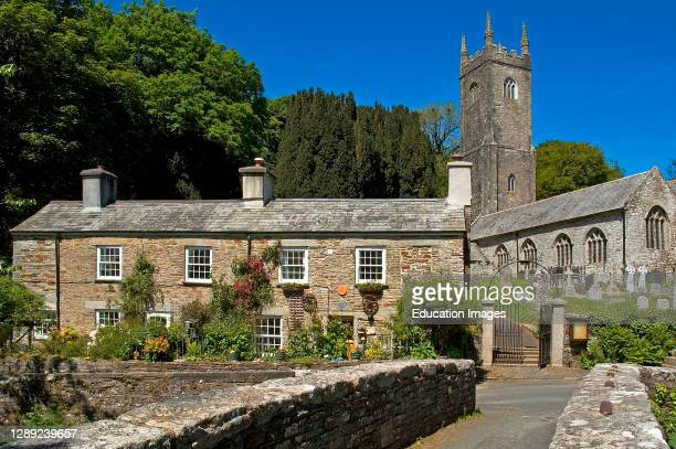 The ancient village of Altarnun in Cornwall.
