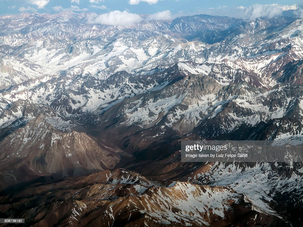 The Andes Mountains : Stock Photo
