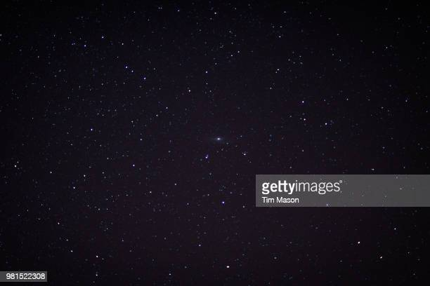 the andromeda galaxy [aka m31] - star field stock pictures, royalty-free photos & images
