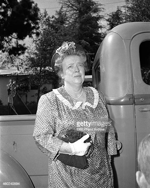 The Andy Griffith Show episode The New Housekeeper This is from season 1 episode 1 Frances Bavier Image dated July 26 1960