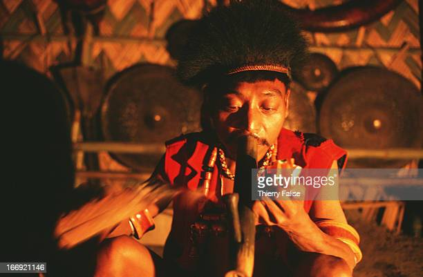 The Ang Ngowang king of Longwa is an opium addict Every day he spends a fortune on 30 to 40 opium pipes Despite his vice the king still enjoys...