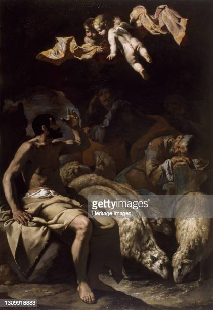 The Angel Appearing to the Shepherds, 1600-50. Artist Master of the Annunciation to the Shepherds. .
