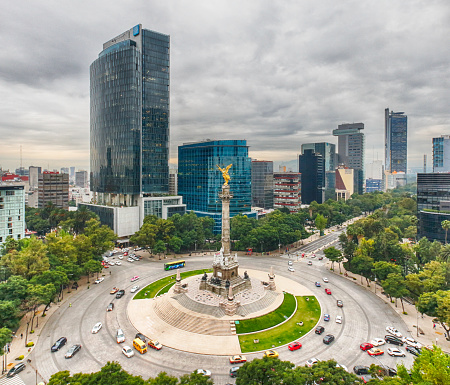 The Angel of Independence, Mexico City - gettyimageskorea