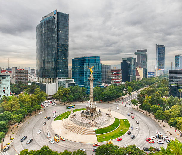 The Angel Of Independence, Mexico City Wall Art