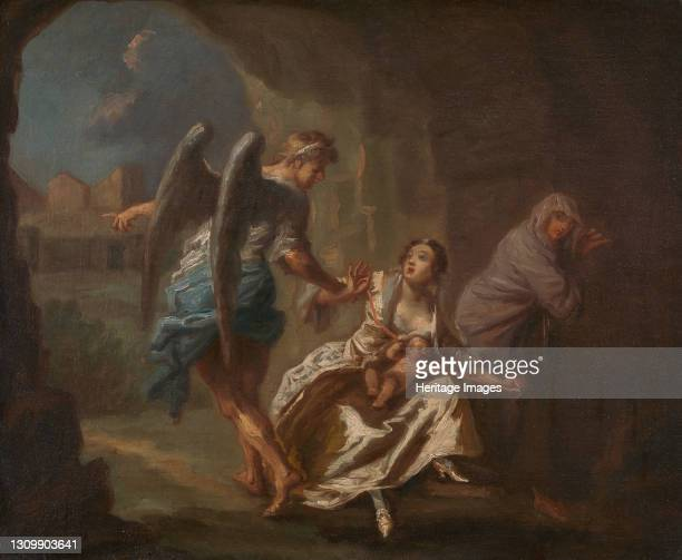 The Angel of Mercy, ca. 1746. Formerly attributed to William Hogarth. Artist Joseph Highmore. .