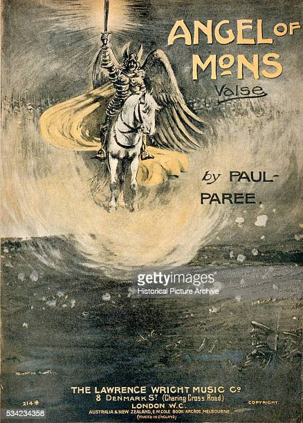 The Angel of Mons Valse Score Cover by Paul Paree