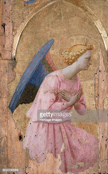 The Angel of the Annunciation ca 1435 Found in the collection of Musée du Louvre Paris Artist Angelico Fra Giovanni da Fiesole