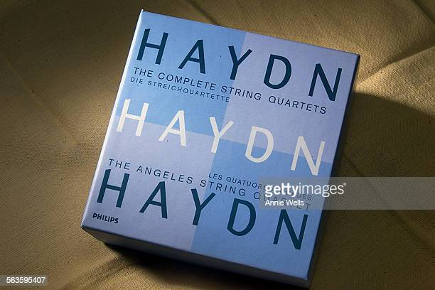 The Angeles String Quartet Haydn box set with 21 CDs For performing arts page for august 12 2001 ^^^ Hayden 21 box set The Angeles String Quartet